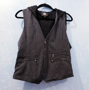 Rock & Republic Hooded Vest size L